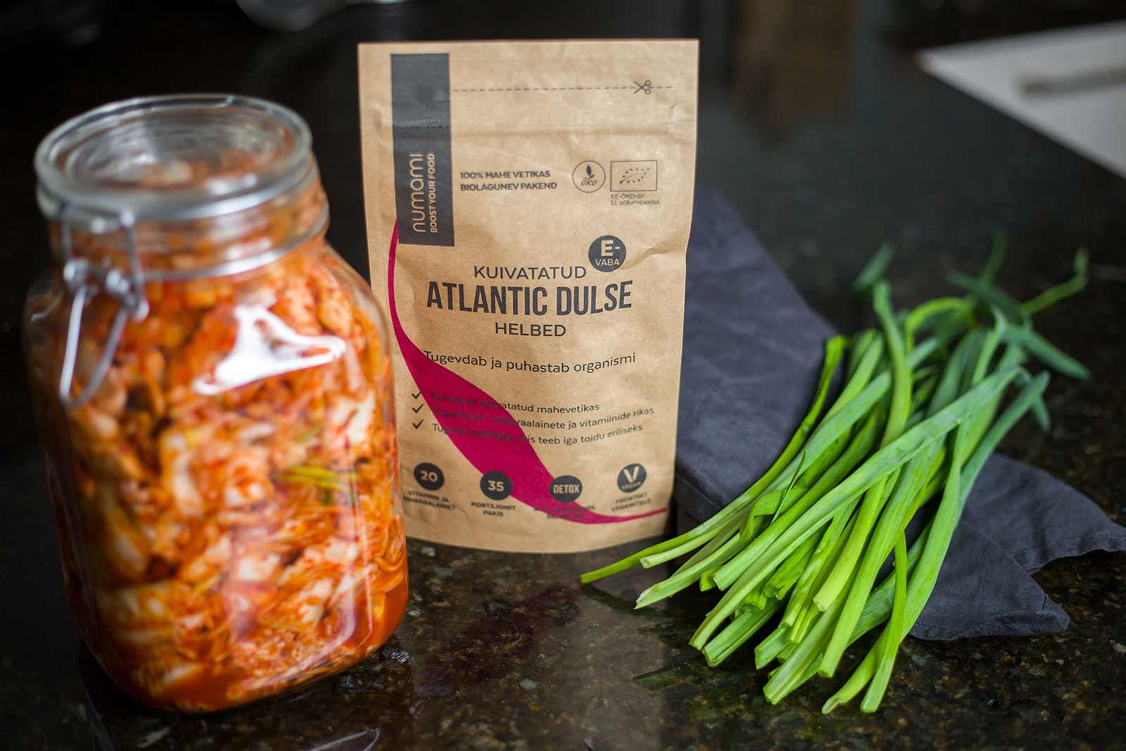 Kimchi with Atlantic Dulse