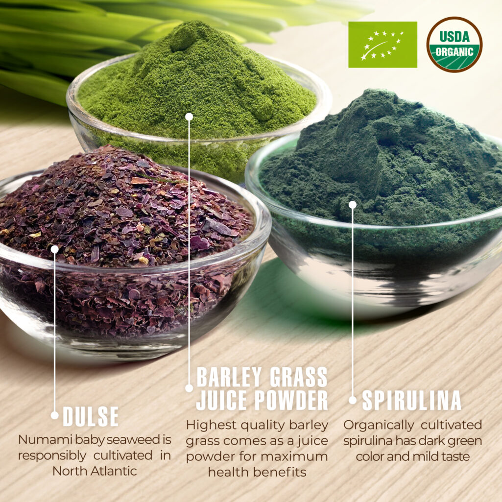 Detox Dulse Barleygrass Spirulina