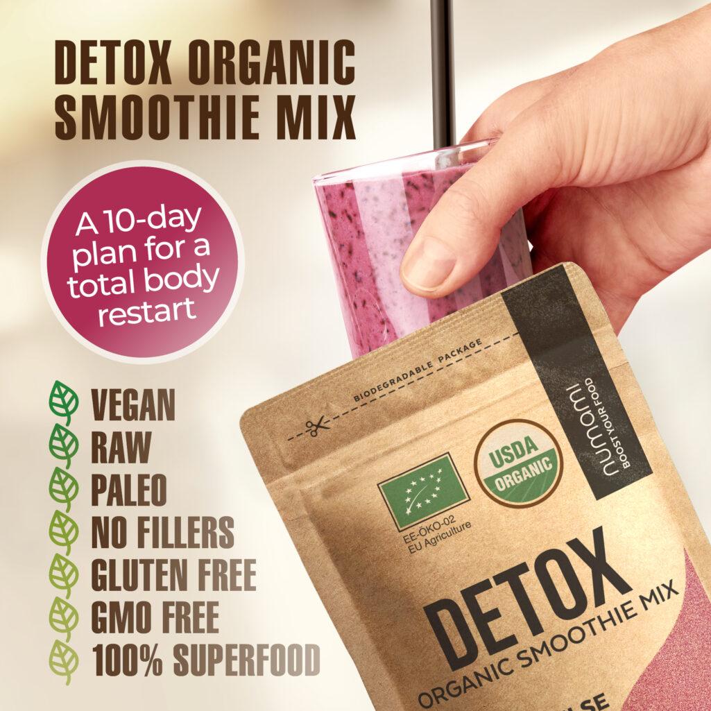 Organic Detox Smoothie Mix