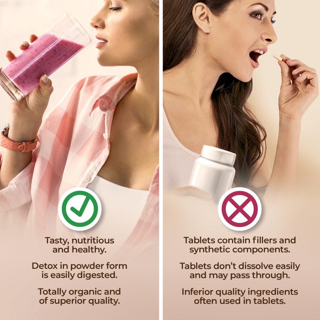 Detox Powder vs Tablets