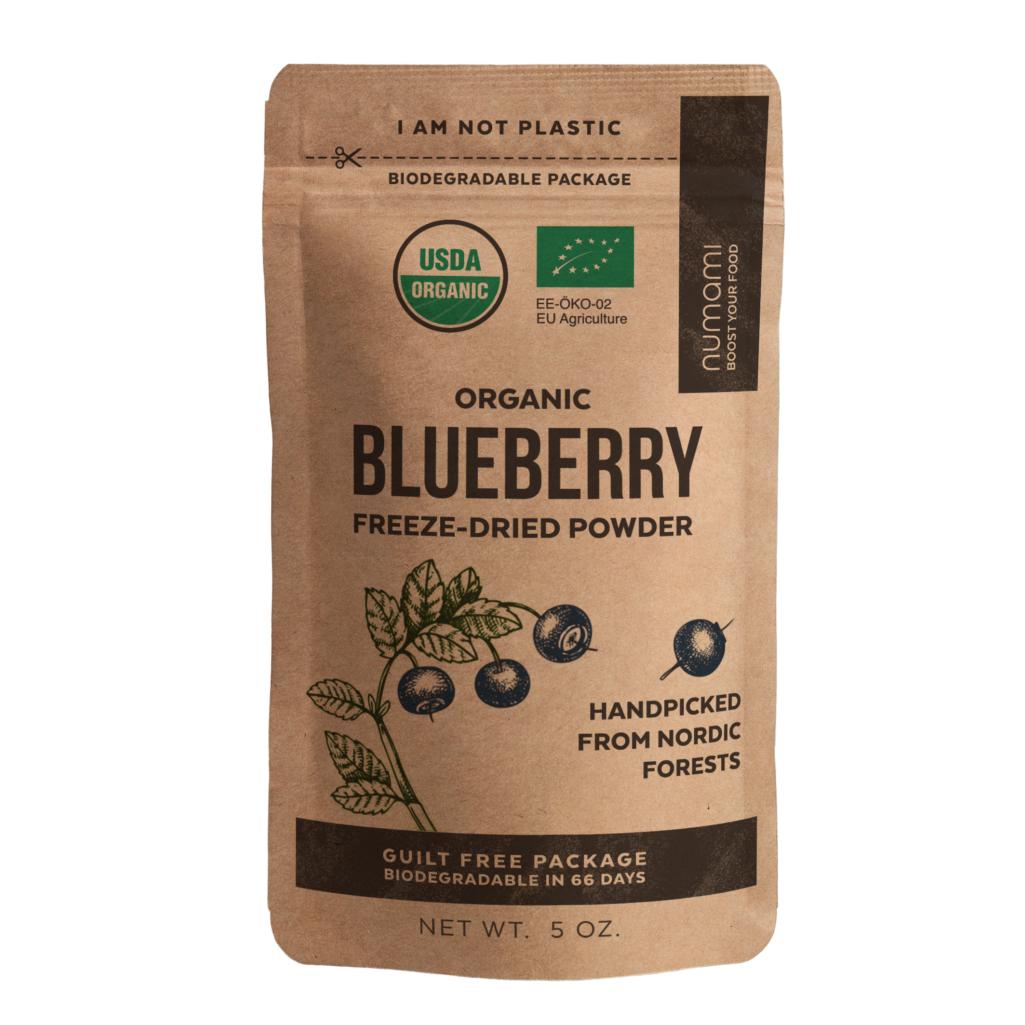 numami organic blueberry powder